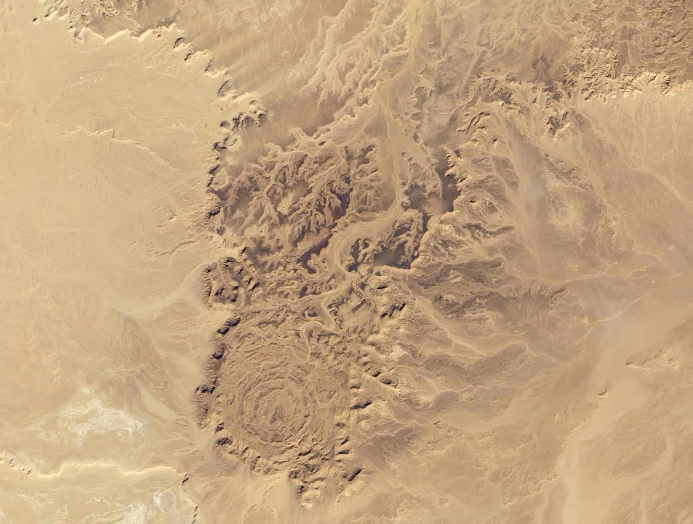 Tin Bider Crater, Algeria