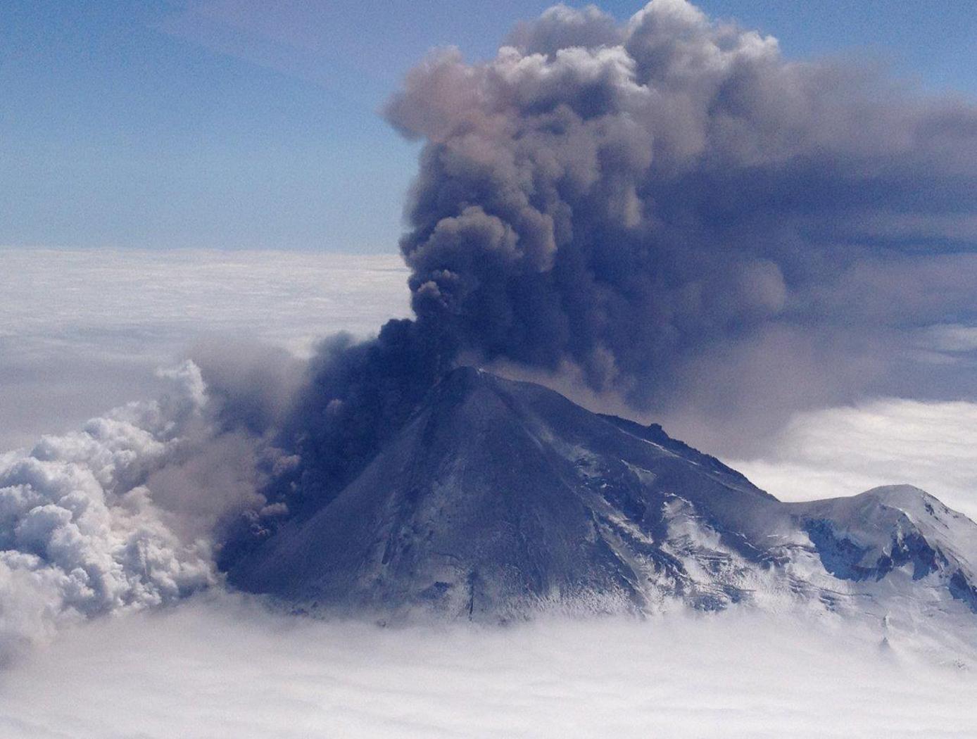 Alaskas Pavlof Volcano: NASAs View from Space