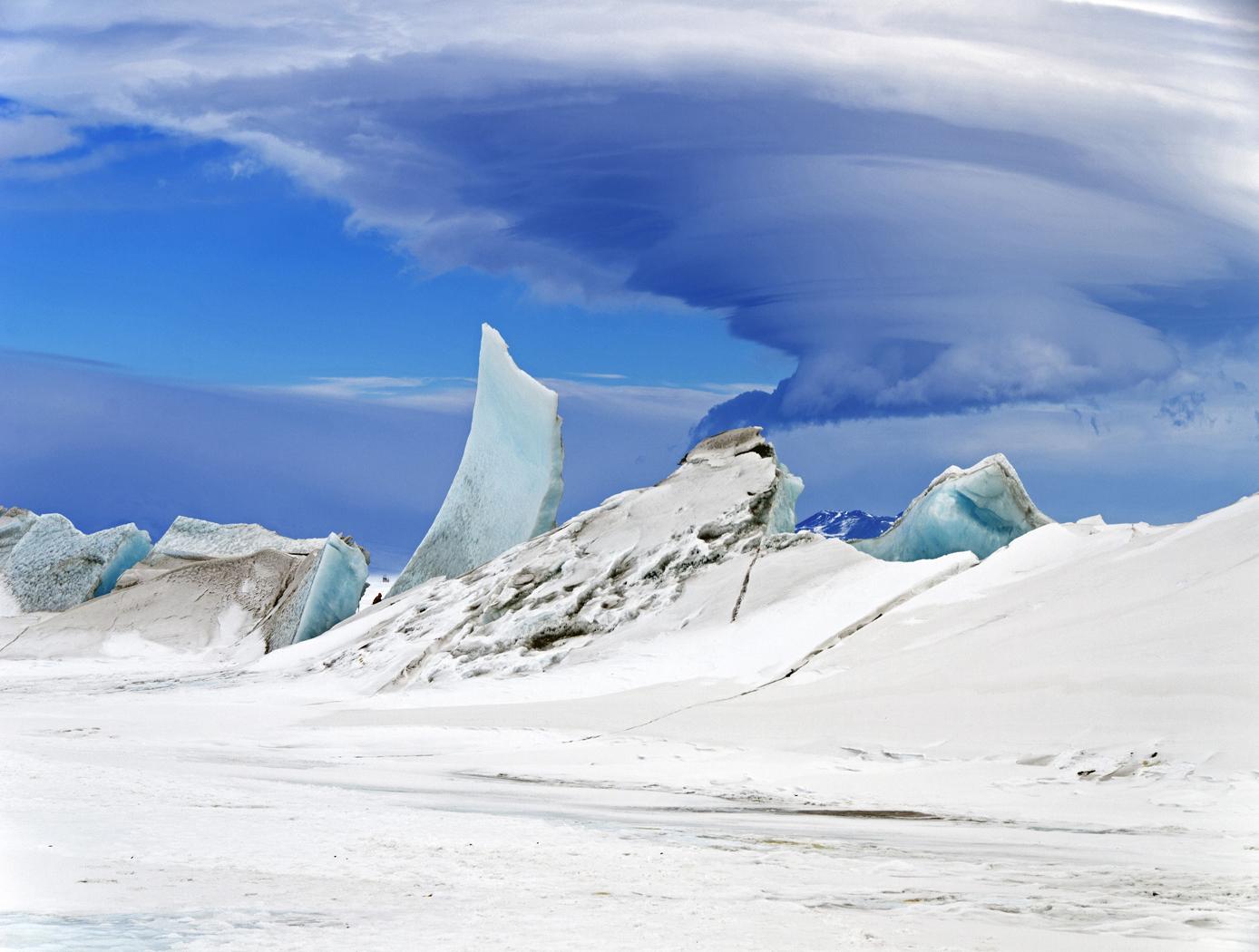 NASA short ice-surveying mission in Antarctica