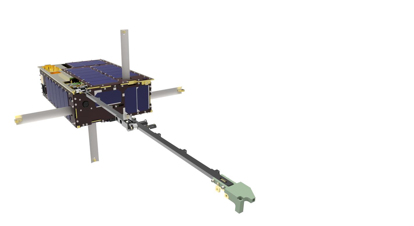 Dellingr 6U CubeSat (Photo Credit: Luis H. Santos)