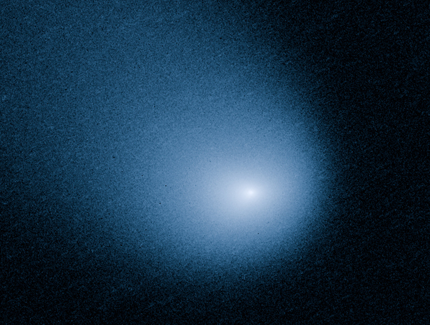 Hubble's View of Comet Siding Spring; Credit: NASA, ESA, and J.-Y. Li (Planetary Science Institute)