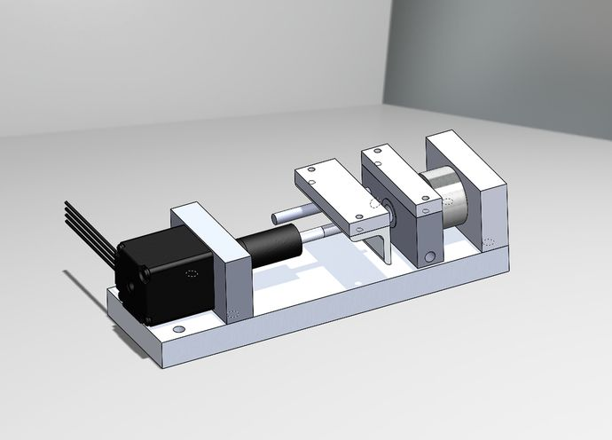 Apparatus for in-situ Raman measurements of Materials. Image credit:  NASA