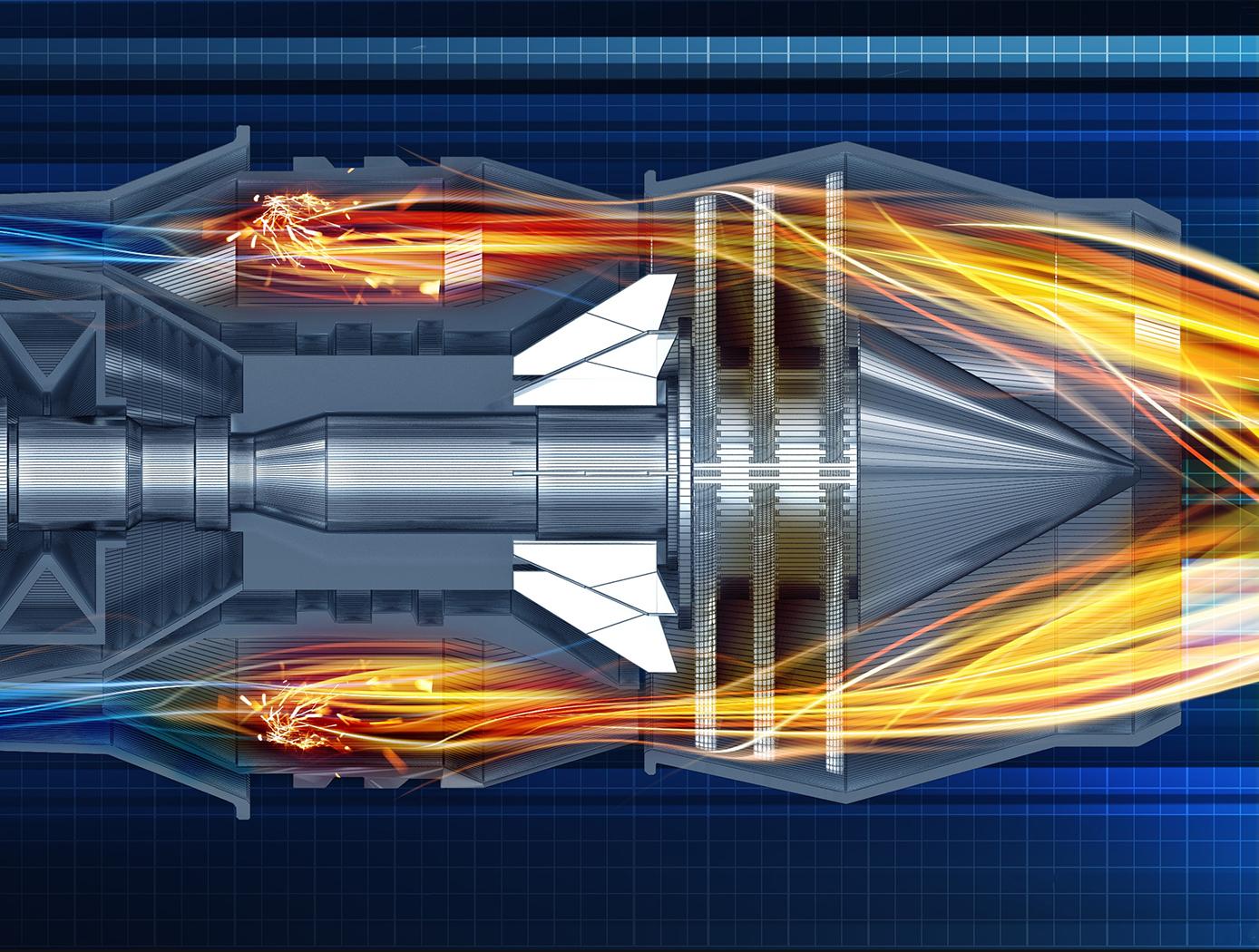 Jet Turbine Profile