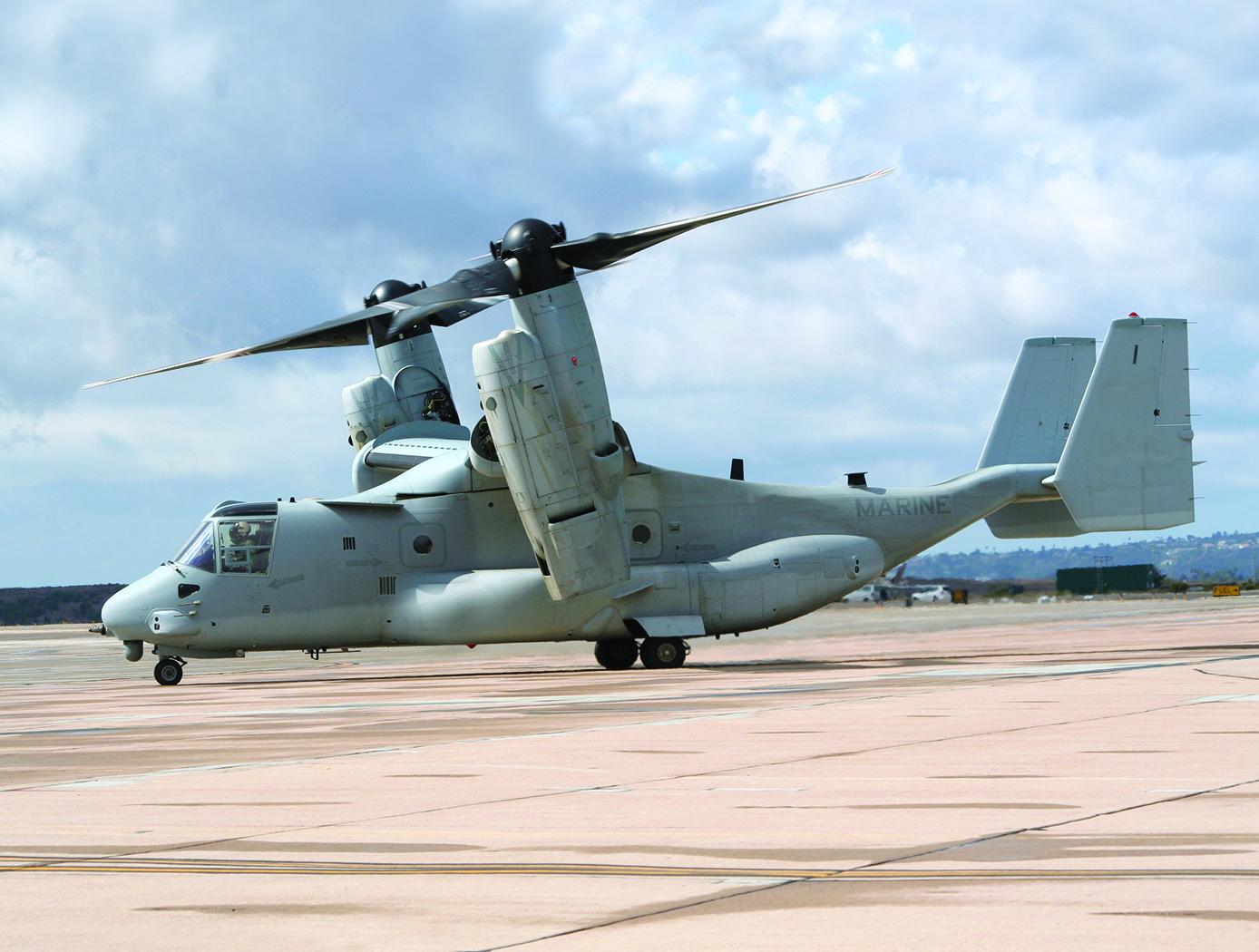 Military MV-22 Osprey