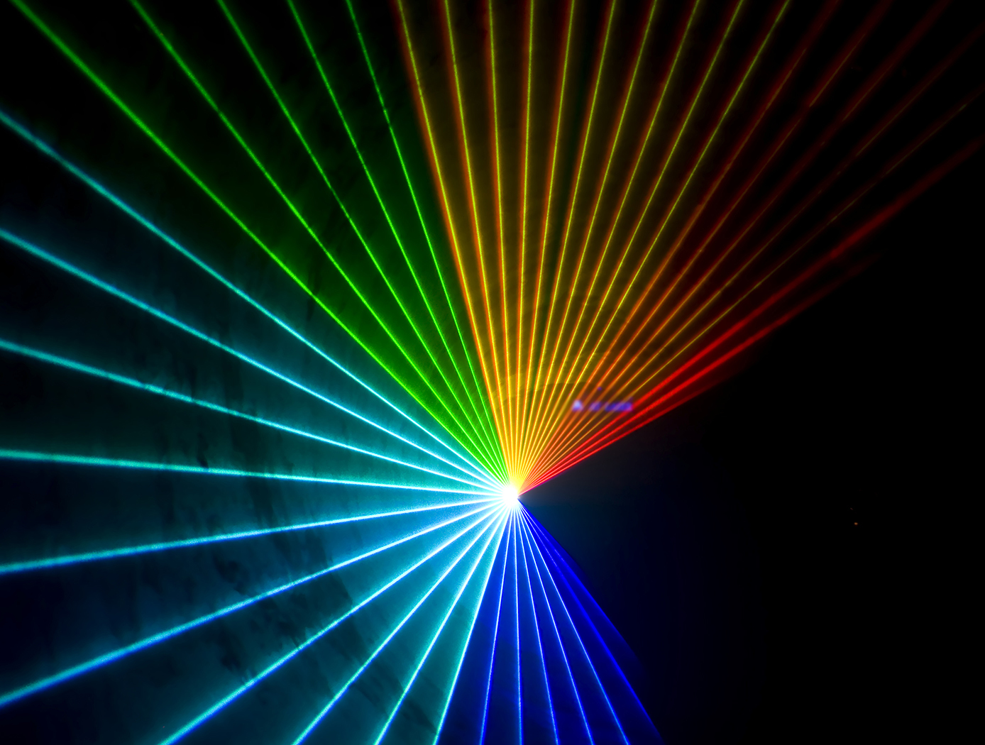 Multi-colored Lasers