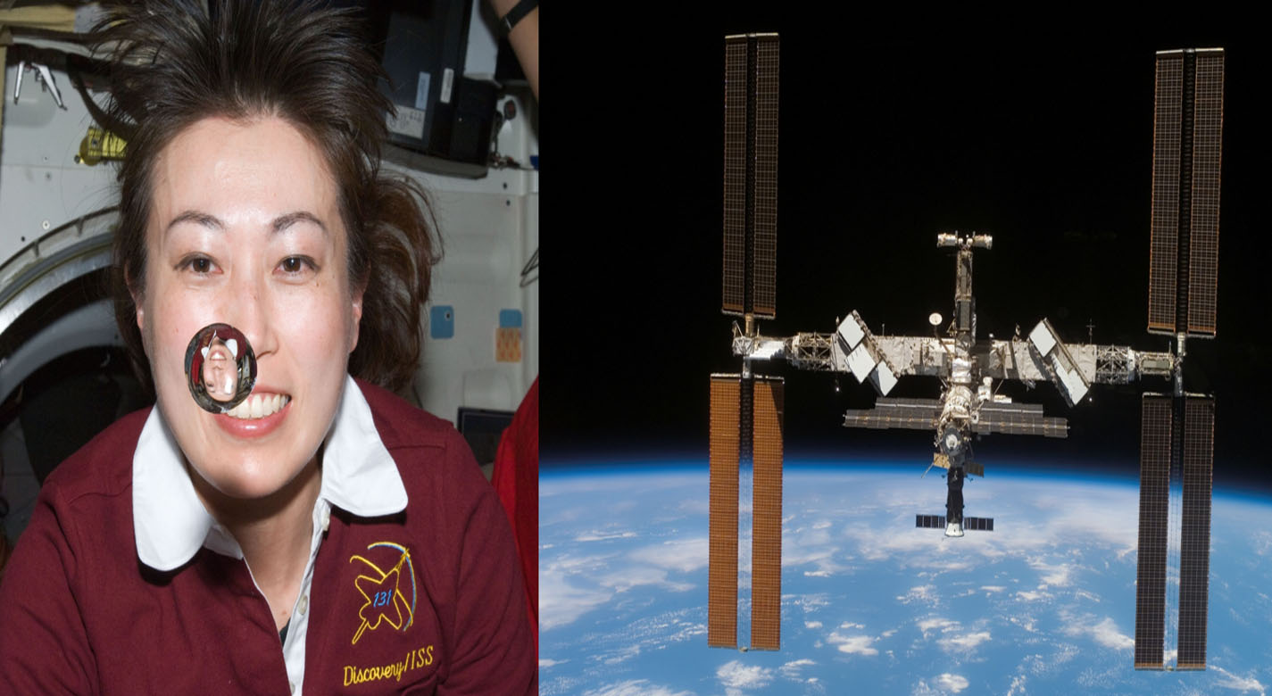 The technology developed to improve water purification for the astronauts on the International Space Station, can be used for water purification on Earth that benefits from the technology being chemical free and portable.