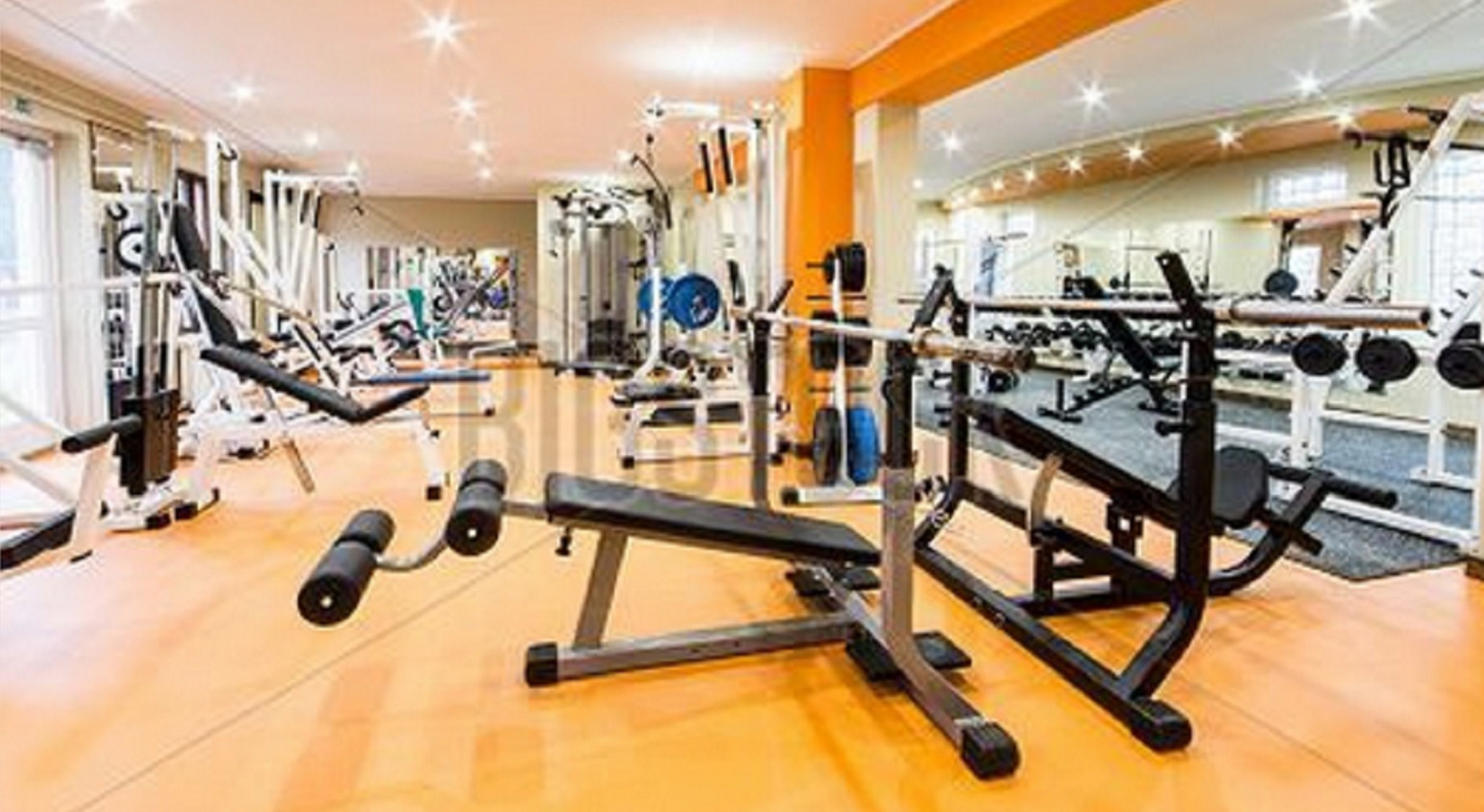 Without gravity, none of these exercise machines work.