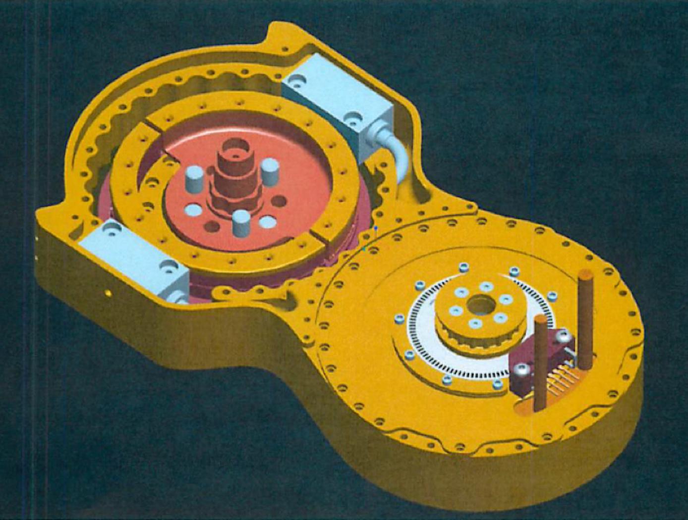 Split-Ring Torque Sensor, Top View
